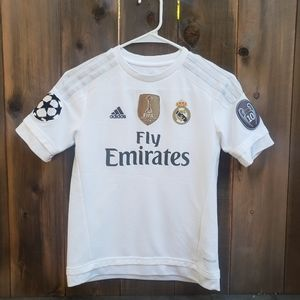 Adidas Real Madrid Jersey boys size S